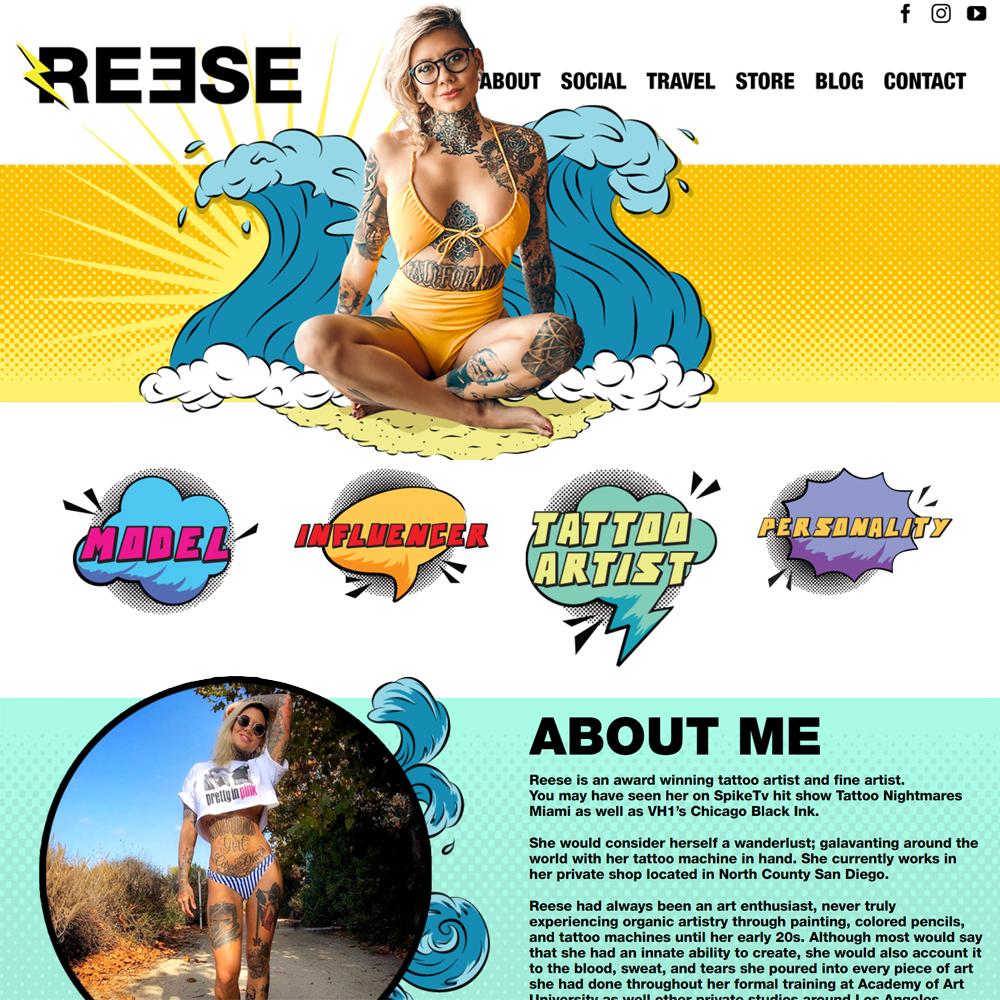 Reese Hilburn Website