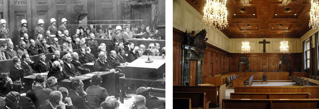 War Crimes trial in Nuremberg