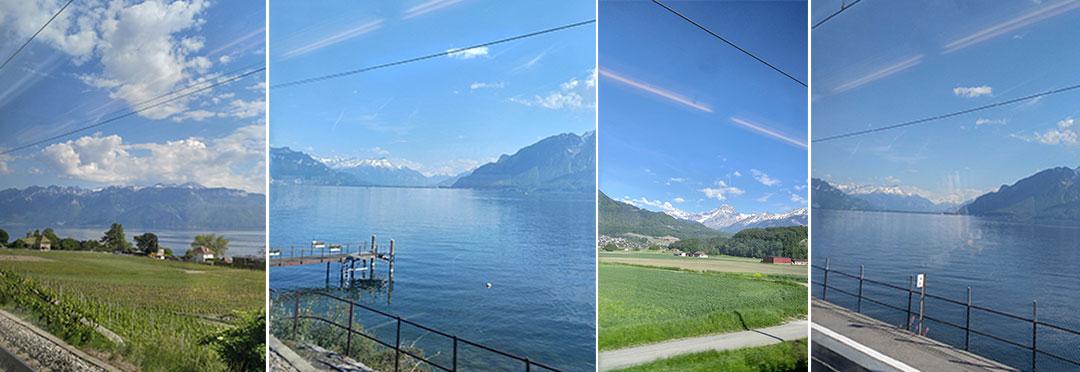 Geneva to medieval Sion