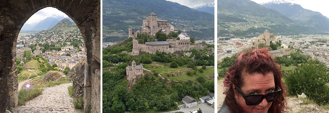 Sion Switzerland Castles
