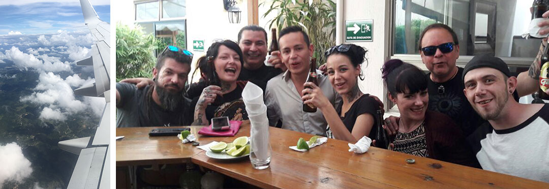 flight into Guatemala
